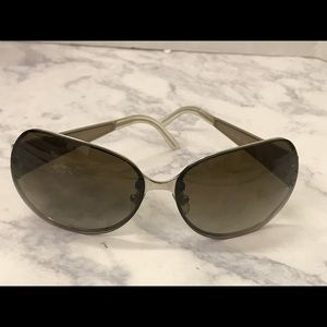Authentic Versace Gray made In Italy Sunglasses